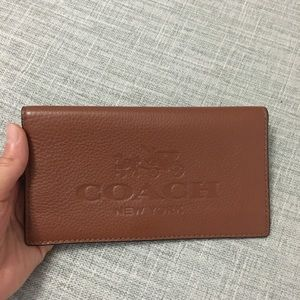 💯 AUTH coach insert or banknote CC thin wallet